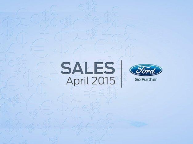 Ford registro un fuerte aumento de ventas en Abril