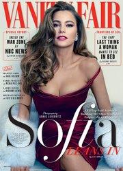 Sofía Vergara en la portada de Vanity Fair de mayo, 2015