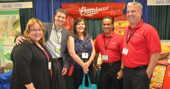Elda DeVarie (EMD Sales) Jackson Almeida (Bauducco) Christine Hernandez (Safeway) Ralph Hill (EMD Sales) Andre Medina (EMD Sales)
