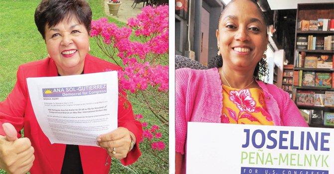 Dos latinas de Maryland aspiran hacer historia en el Congreso