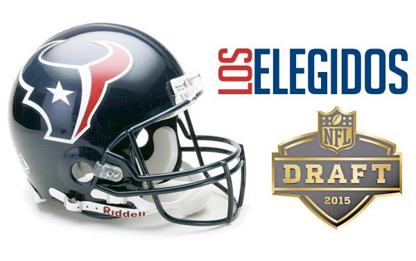 Los Texans y sus nuevas adquisiciones del draft 2015