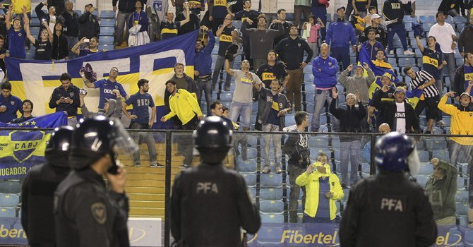 Hincha de Boca Juniors que atacó a River Plate dice que está arrepentido