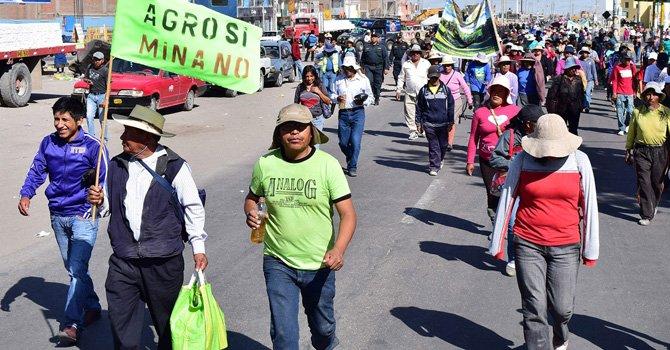 Perú: estado de mergencia por conflicto minero