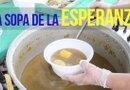 La Fundación Cascajal, una organización sin ánimo de lucro que otorga becas a los jóvenes de Houston, recauda fondos con la preparación de un sancocho, un plato tradicional colombiano.