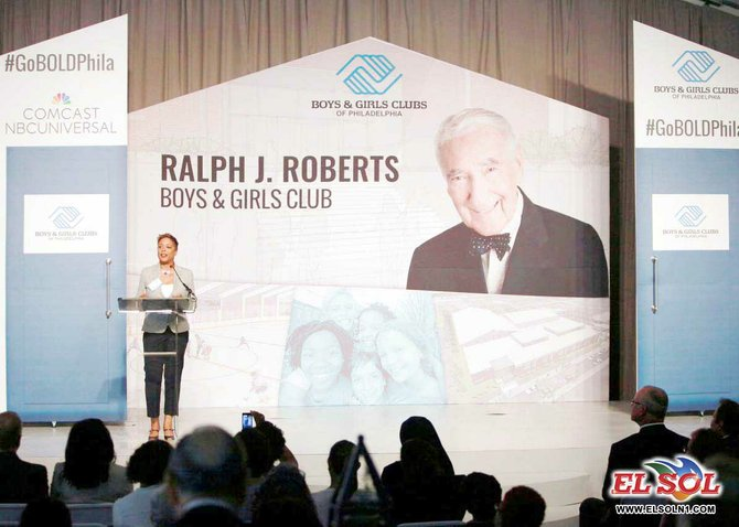 In honor of Comcast's founder Ralph J. Roberts and his commitment to Philadelphia, as well as Comcast's longstanding partnership with the BGCP and nationally, the new Germantown Club will be named the Ralph J. Roberts Boys & Girls Club.