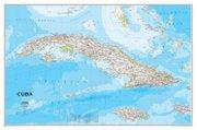 Valdés dirigió la creación de este mapa de Cuba para National Geographic. Fue el primero que el organismo hacía desde 1906.