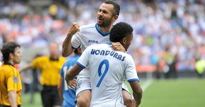 2.0: Honduras derrota fácil a El Salvador