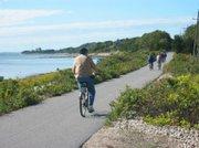 Shining Sea Bikeway en Cape Cod