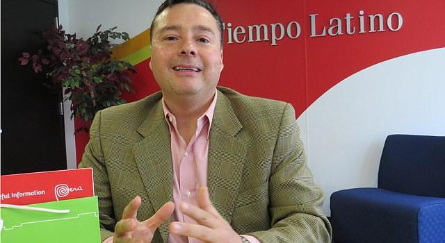 VOZ. Juan Luis Reus dirige la  Oficina Comercial del Perú en Washington.