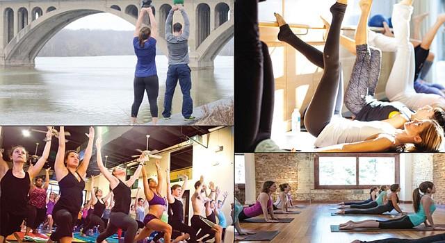 DC. Del 8 de junio al 2 de septiembre diferentes estudios de yoga, barra y fitness ofrecerán las clases gratuitas de una hora dos veces a la semana.
