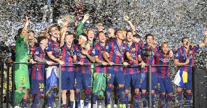 1-3. El Barcelona gana su quinto título