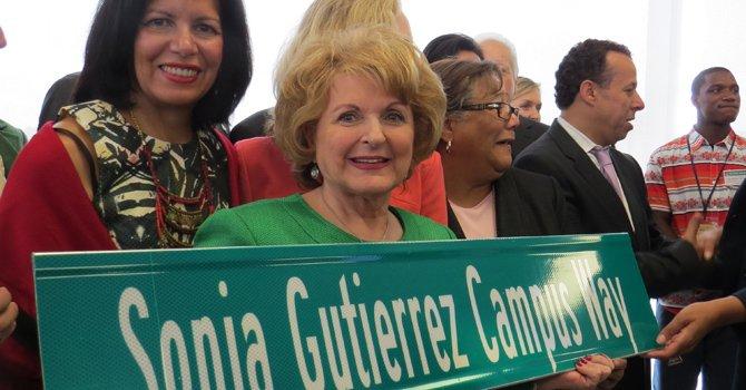 Por primera vez una calle de la capital de EE.UU. lleva el nombre de una latina