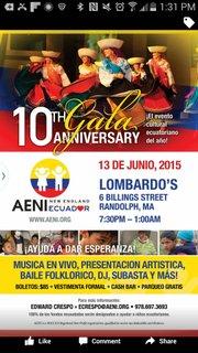 Haga click en este flyer para leer más detalles sobre la gala 2015 de AENI este sábado 13 de junio.