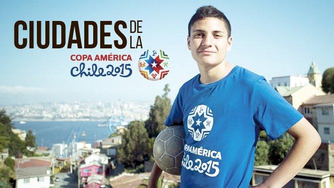 Chile engalana sus ciudades para la Copa América 2015
