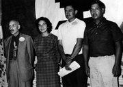 HISTORIA. Dolores Huerta en una convención del sindicato en 1962.