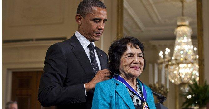 Museo en Washington rinde homenaje a activista Dolores Huerta