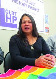 Alexa Elizabeth Rodríguez es una activista por los derechos de las personas transexuales y la comunidad LGTB.