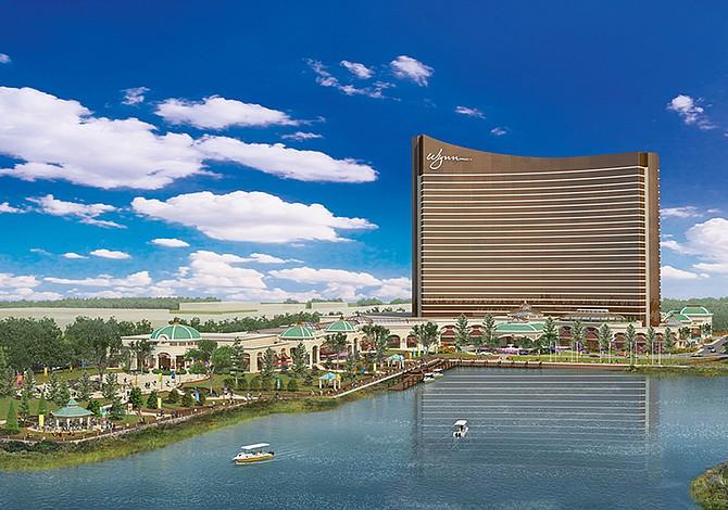 Wynn propuso formalmente un cambio de nombre para el casino de Everett