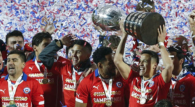 Chile, campeón de la Copa América 2015, será el representante de la CONMEBOL en la Copa Confederaciones 2017.
