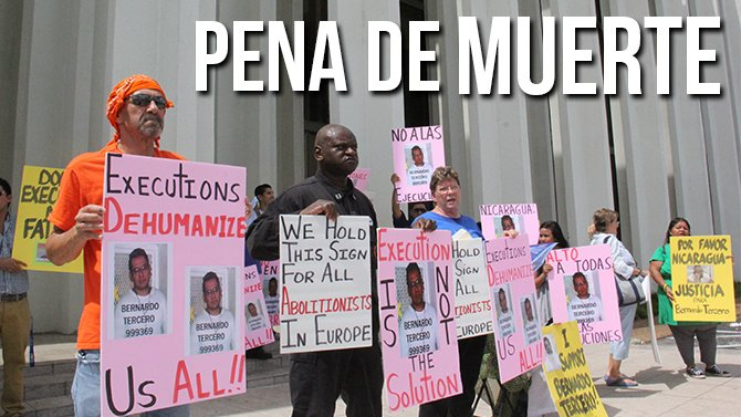 Buscan frenar ejecución de nicaragüense en Texas