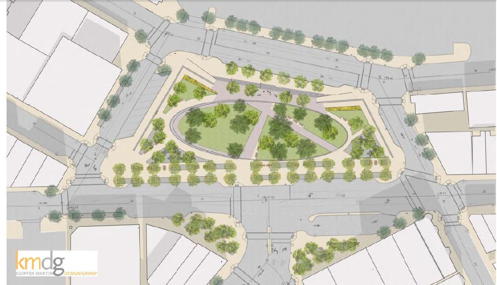 Propuesta de remodelación de Central Square en East Boston