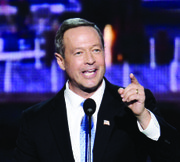 En su detallada agenda migratoria, el exgobernador de Maryland, Martin O'Malley (D) permite no sólo la legalización de los indocumentados sino que les da acceso al cuidado de salud.