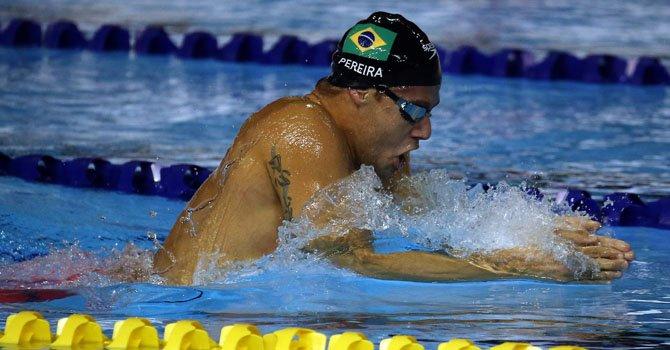 "Thiago Pereira sobre su récord: ""Esto es algo maravilloso"""