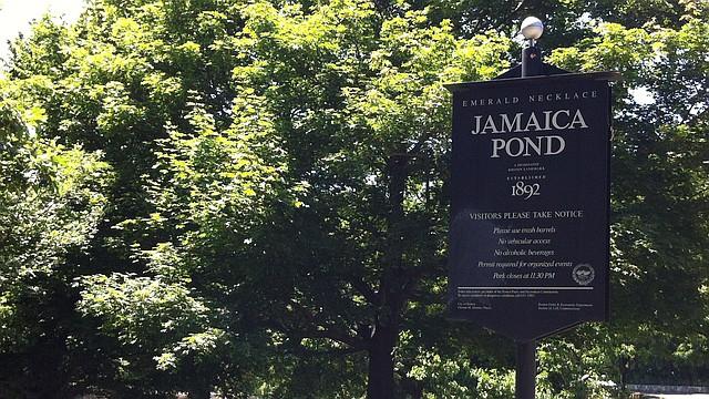 Jamaica Pond, en Jamaica Plain