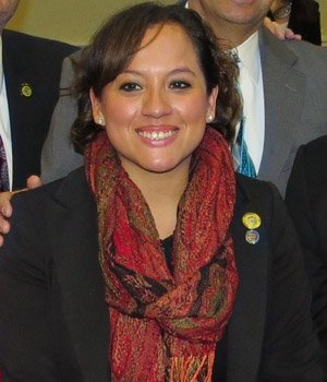 POLÍTICA. A los 27 años Maricé Morales se convirtió en delegada estatal de Maryland.