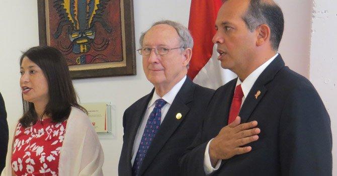 Perú celebra en Washington día de independencia