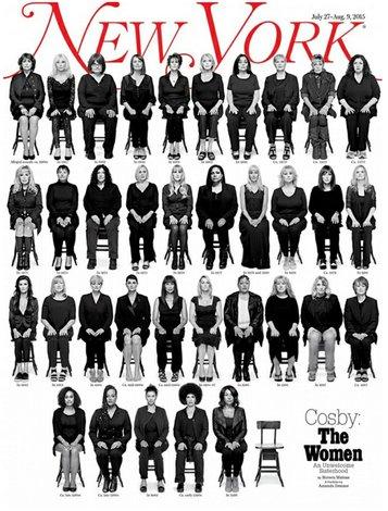 Ellas acusan a Cosby desde una revista