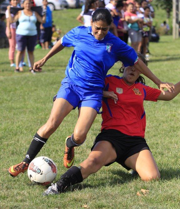 Guerreras vs. Alianza en la semifinal femenina de la American Soccer league de Herndon, VA.