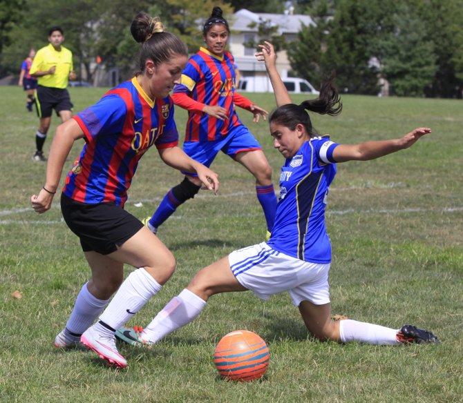 Semifinal de la American Soccer League de Herndon entre Las Coronitas y Hacienda Vieja.