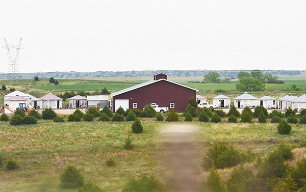 Unas millas al sudeste de North Platte está Grain Bin Antique Town, un mercado de antigüedades que consta de 15 recipientes octogonales donde se almacenaba el grano en la era de la depresión, llenos de sorpresas. (grainbinantiquetown.com)