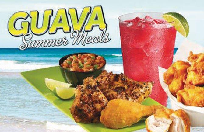 El verano sabe a guayaba
