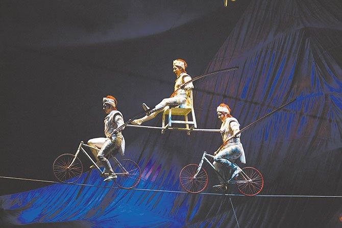 Con el circo en las venas