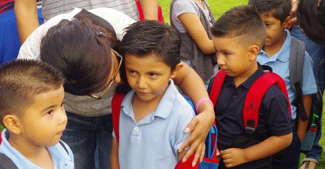 Cada vez hay más latinos en las escuelas