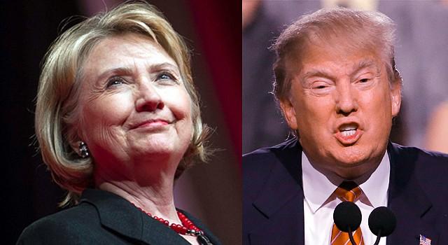 Hillary Clinton supera en las últimas encuestas a Donald Trump.