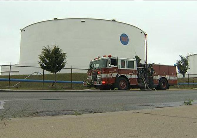 CHELSEA: Un tanque de gas se dañó por sobrepresurización