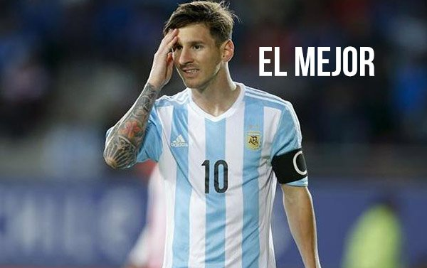 Lionel Messi fue elegido como mejor jugador en Europa 2014-2015