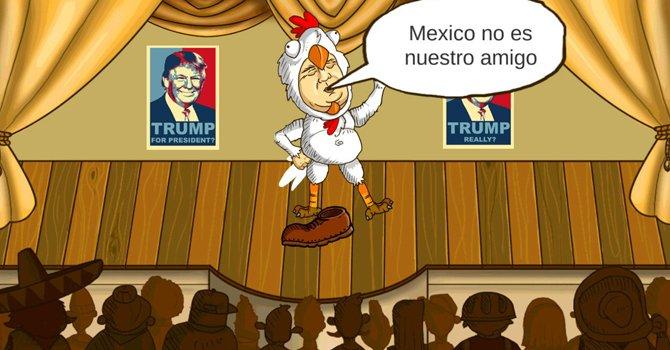 Trump es apaleado en un videojuego