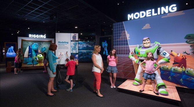 """Es posible visitar """"La ciencia detrás de Pixar"""" en hasta el 10 de enero de 2016"""
