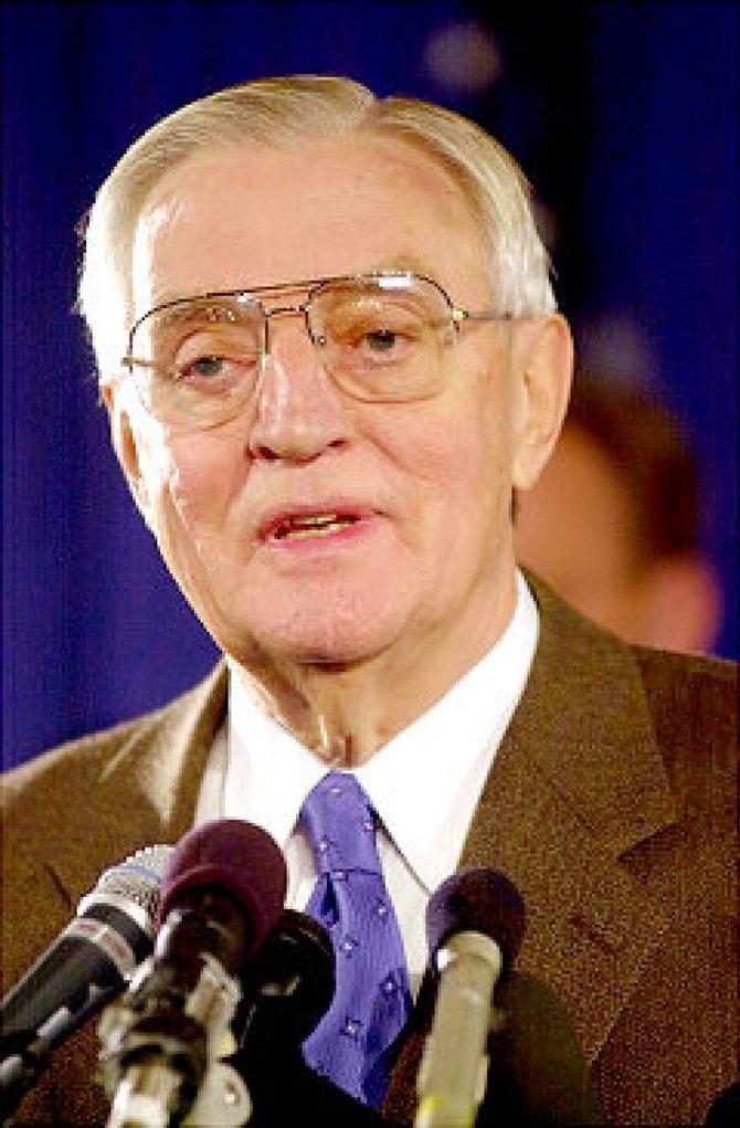 Ex vicepresidente Walter Mondale.