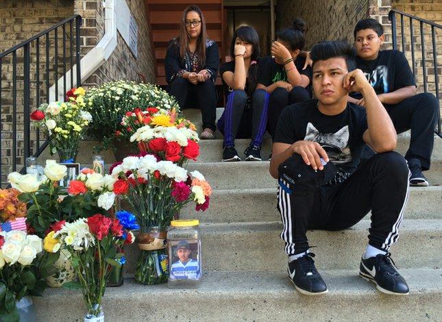 La muerte une El Salvador y Virginia
