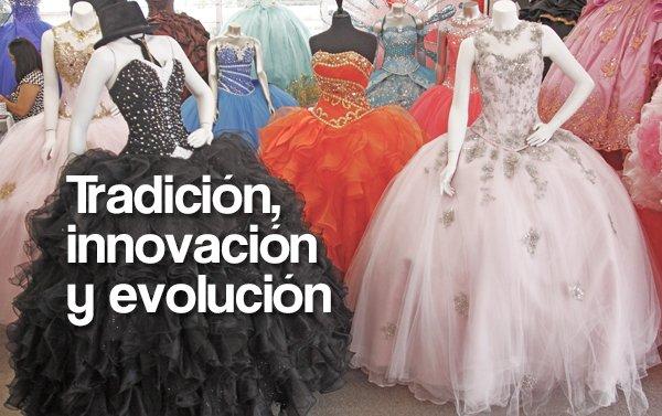 Vestidos de Quinceañera: Tomas Benítez y sus creativos diseños