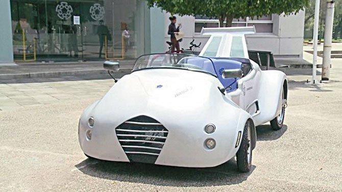 Crean auto a hidrógeno en México
