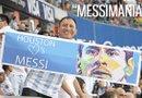 Una Messimania invadió a la ciudad de Houston, que se vistió albiazul para darle la bienvenida a la selección de Argentina y en especial al astro mundial Lionel Messi.