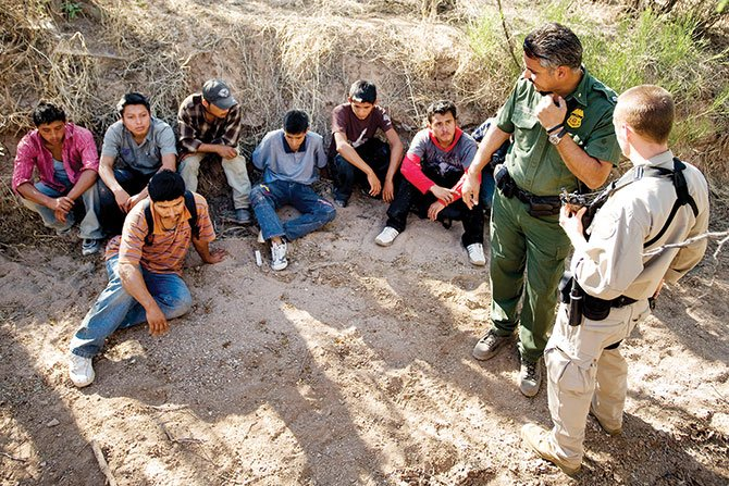 Aumentan detenciones en la frontera