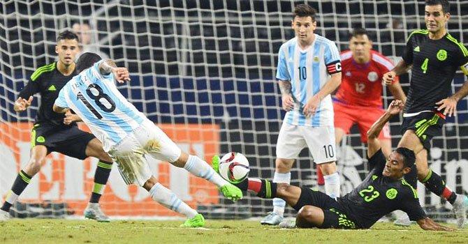 2-2: Messi rescata el empate para Argentina