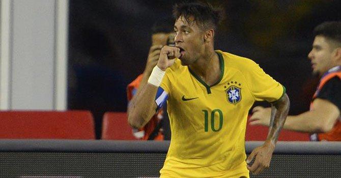 1-4. Neymar oxigena a Brasil